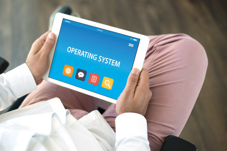 OPERATING SYSTEM CONCEPT ON TABLET PC SCREEN