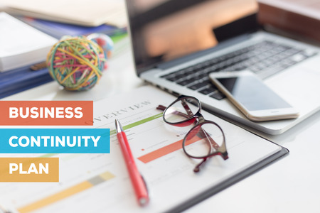 Photo for BUSINESS CONTINUITY PLAN CONCEPT - Royalty Free Image