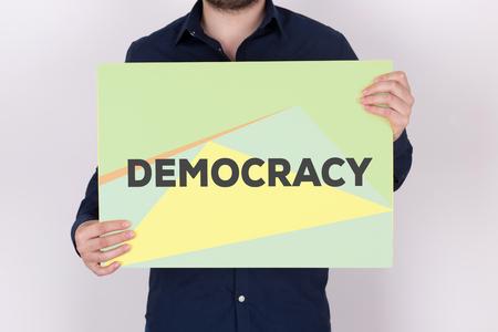 DEMOCRACY CONCEPT