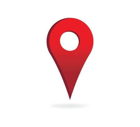 Illustration pour Map Pin Vector Icon Concept - image libre de droit