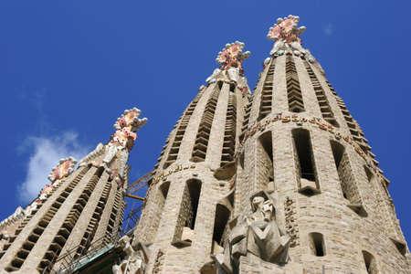 Foto per The Salgrada Famiglia, Barcelona, Spain. - Immagine Royalty Free