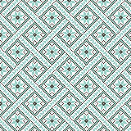 Vector illustration of ukrainian pattern ornament