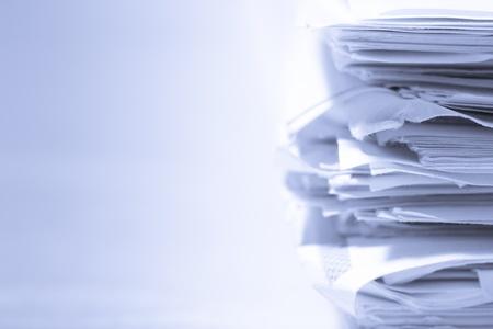 Photo pour Stack of papers - image libre de droit