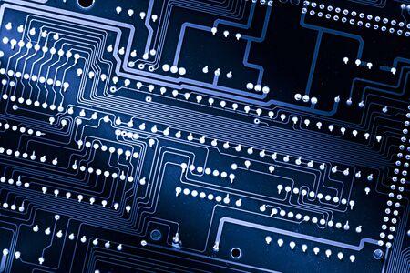 Electrical cardboard in closeup