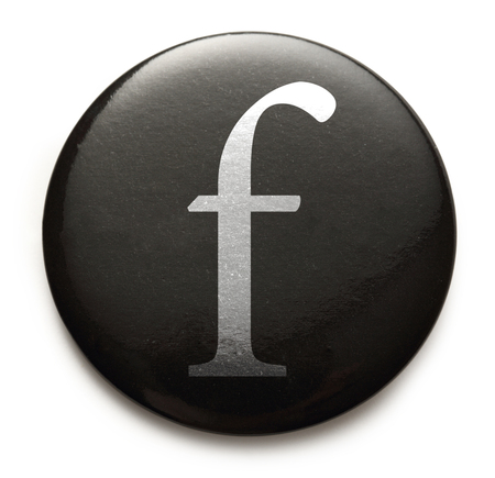 Single lowercase latin letter f