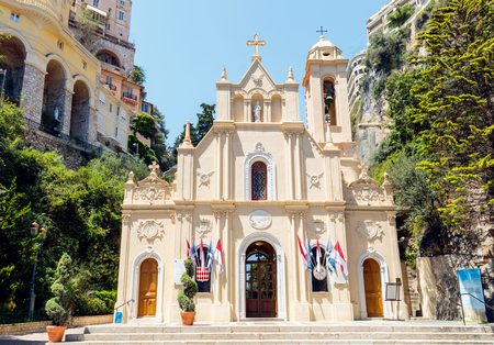 Chapelle de la Misericorde in Monaco day view