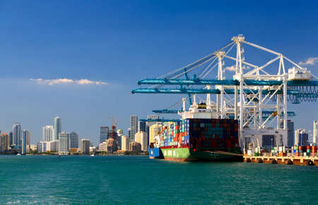 The Port of Miami is the major port in USA