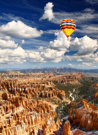 The Bryce Canyon National Park in USA