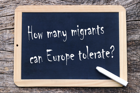 How many migrants can tolerate Europe?