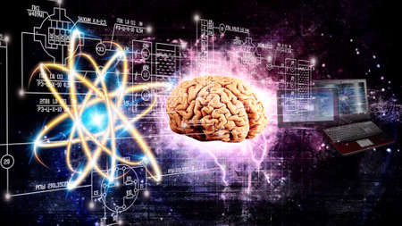 Photo for generation computers future witch thought space brain - Royalty Free Image