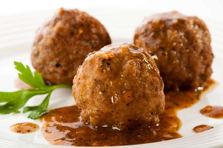 Roasted meatballs