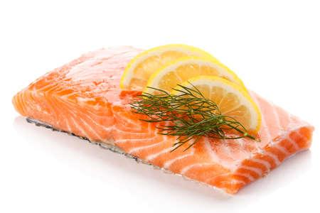Foto de raw salmon - Imagen libre de derechos