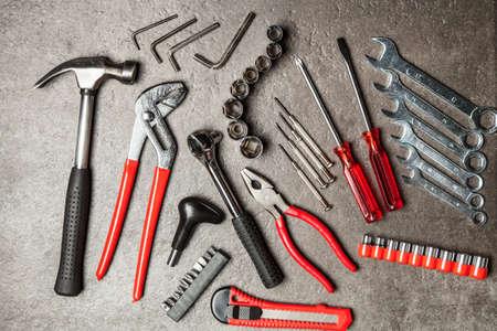 Photo pour DIY Tools set - image libre de droit
