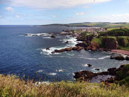 St Abbs, a Scottish fishing village on the Firth of Forth lies next to the Internationally famous St Abbs Head Nature Reserve and the St Abbs and Eyemouth Voluntary Marine Reserve