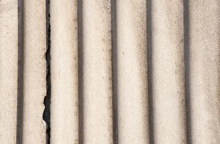 old asbestos cement texture