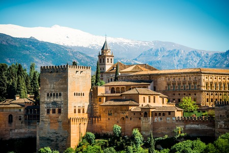 View of the famous Alhambra, Granada, Spain