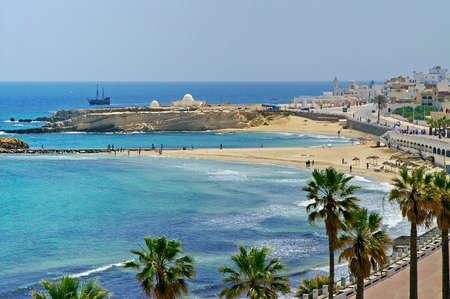 Quay in Monastir, Tunisia