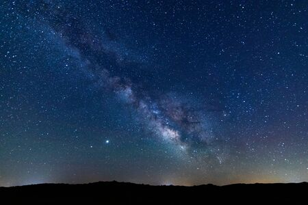 Photo for Fantastic starry sky and the milky way - Royalty Free Image
