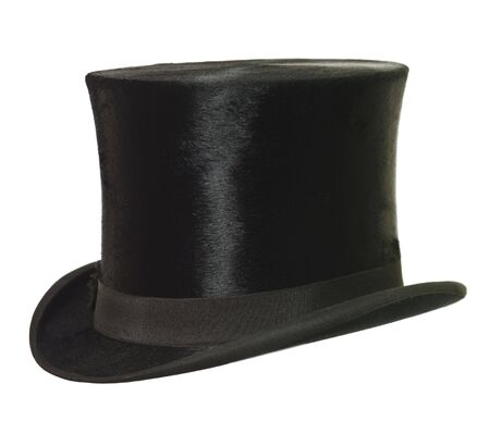 Foto de Top Hat isolated on white background - Imagen libre de derechos