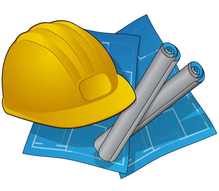 Photo for Home Construction Icon - Royalty Free Image
