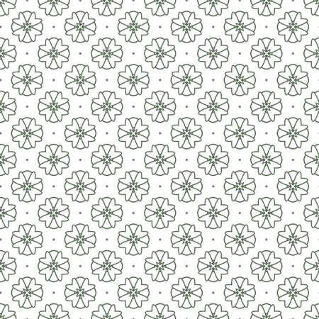 Illustration pour Seamless geometric ornamental vector pattern. Abstract background - image libre de droit