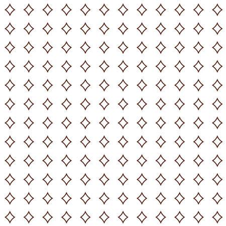 Illustration pour Geometric ornamental vector pattern. Seamless design texture. - image libre de droit