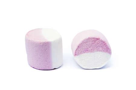 marshmallow sweet isolated on white background