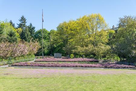 Photo for War Memorial Park in Tacoma, Washington. - Royalty Free Image