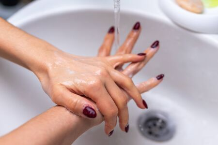 Compliance with sanitary standards during the quarantine period. Washing Hands. Cleaning Hands. Hygiene