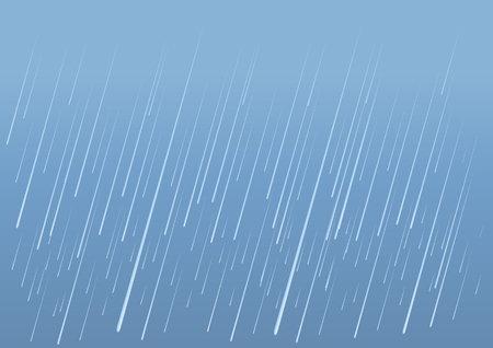 Rain drops background.Vector image illustration of wet day
