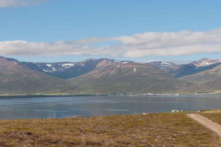 Icelandic countryside landscape