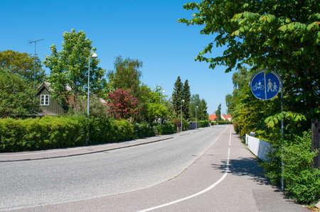 Gl. Lyngevej in Allerod in Denmark