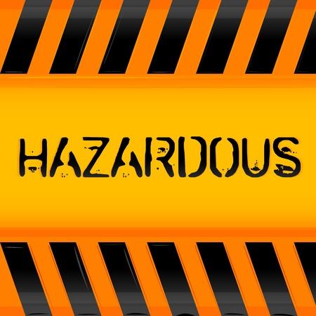 illustration of hazardous icon