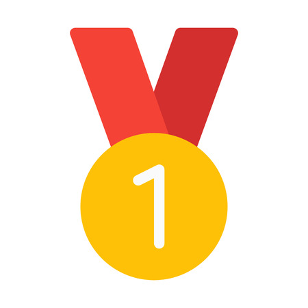 First Place Medal: Royalty-free vector graphics