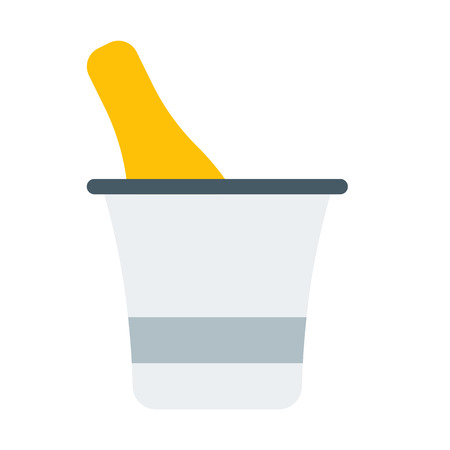Chilled Champagne in bucket
