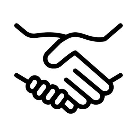 Illustration pour Handshake - image libre de droit