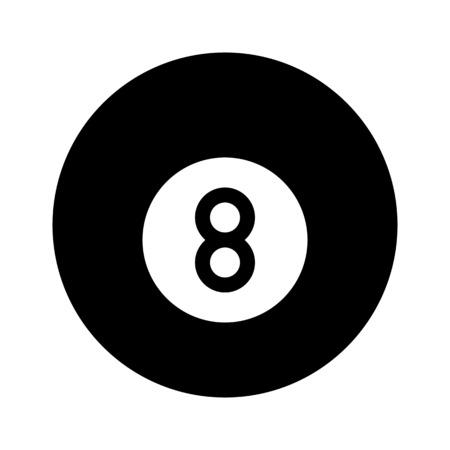 Illustration pour 8 Ball Game - image libre de droit