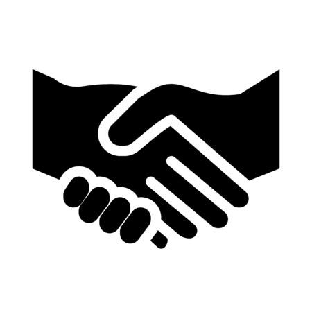 Illustration pour Handshake or business deal - image libre de droit