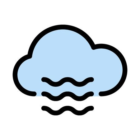 Illustration pour Mist cloud fog - image libre de droit