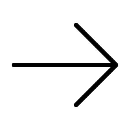 Ilustración de Right Arrow Side - Imagen libre de derechos