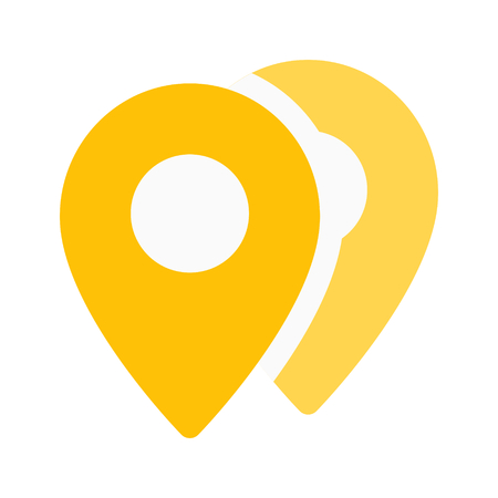 locations pins