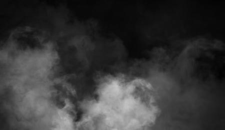 Photo pour Fog and mist effect on black background. Smoke texture - image libre de droit