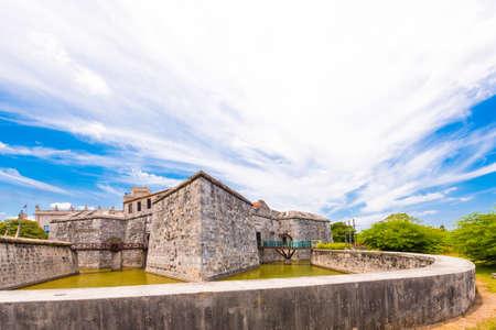 Castillo de la Real Fuerza, Havana, Cuba. Copy space for text