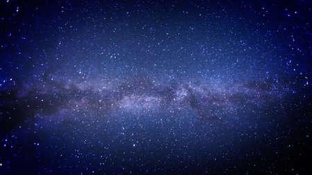 Foto de Milky Way in the heavens, photograph - Imagen libre de derechos