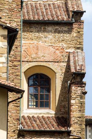 FIRENZE, ITALIA - LUGLIO 25, 2017: architetture del centro storico - Toscana