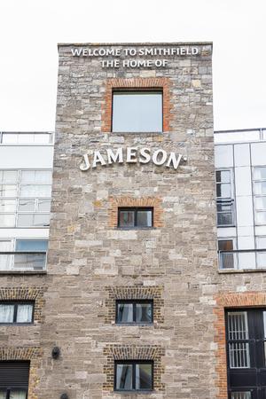 View of the Old Jameson Distillery, Dublin, Ireland