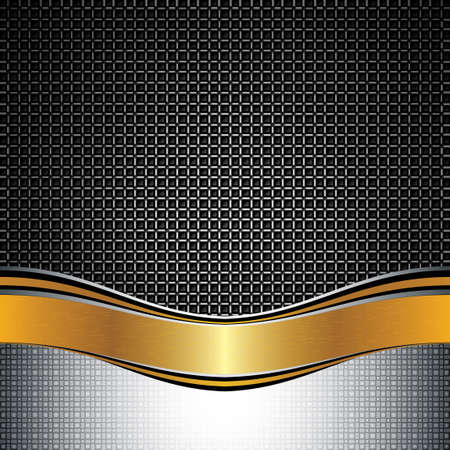 Abstract golden background - vector illustration