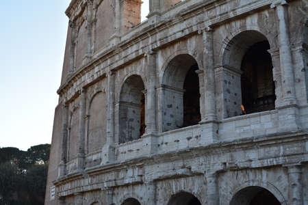 Foto de Detail of the colosseum - Imagen libre de derechos
