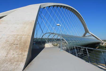 Puente el tercer milenio Zaragoza