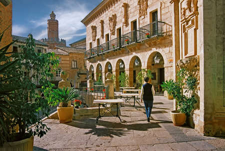 The varied styles of Spanish architecture on the island of Majorca.